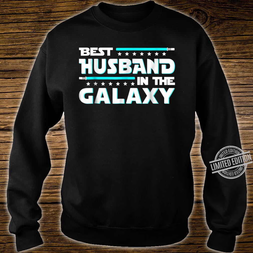 Best Husband In The Galaxy Fathers Day Shirt sweater