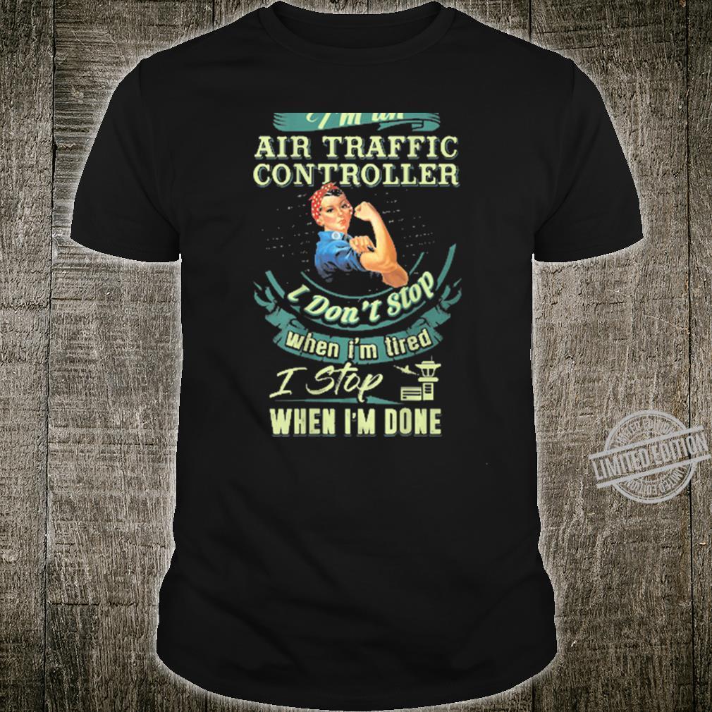 Best IRISH Air Traffic Controller ATC Flight Fun Shirt