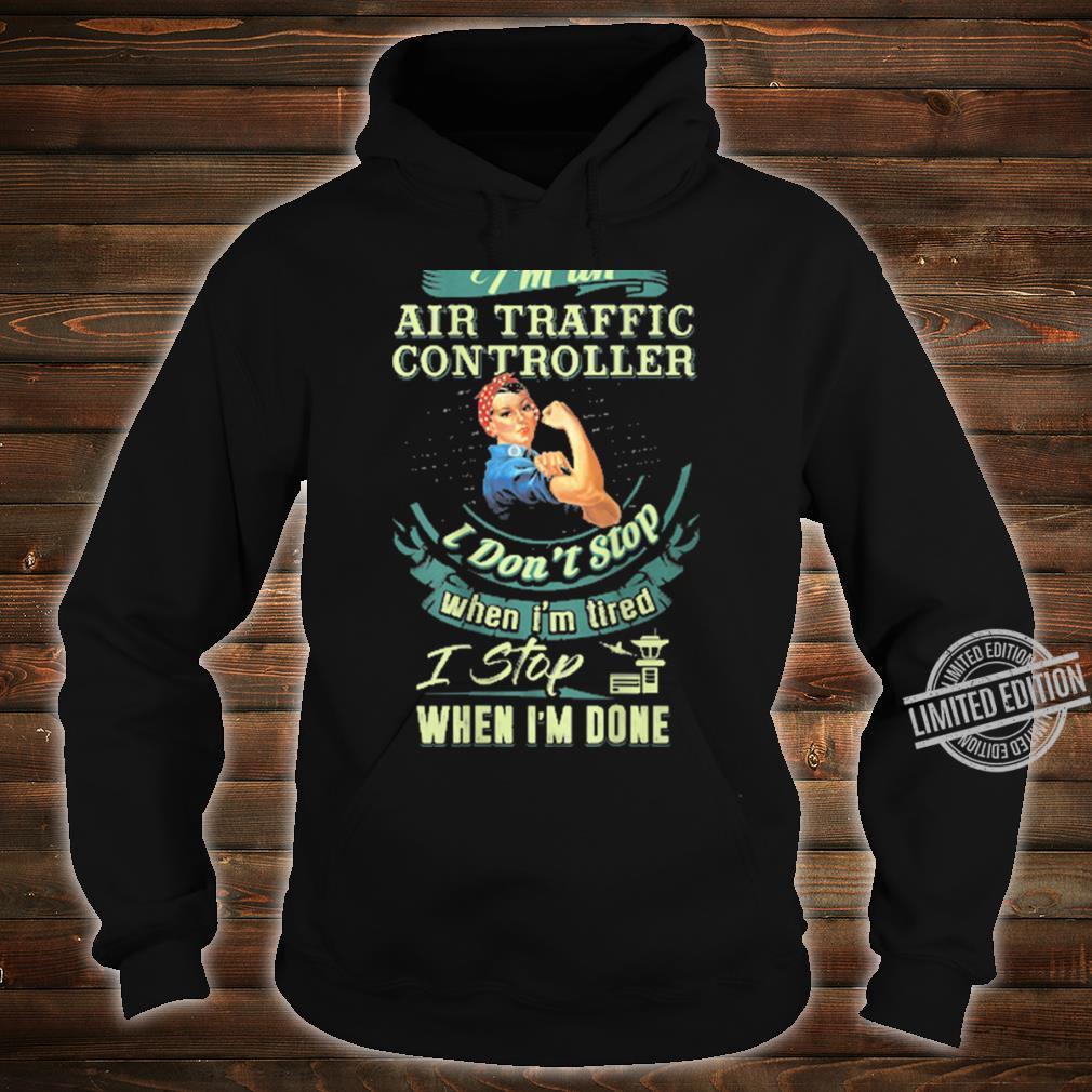Best IRISH Air Traffic Controller ATC Flight Fun Shirt hoodie
