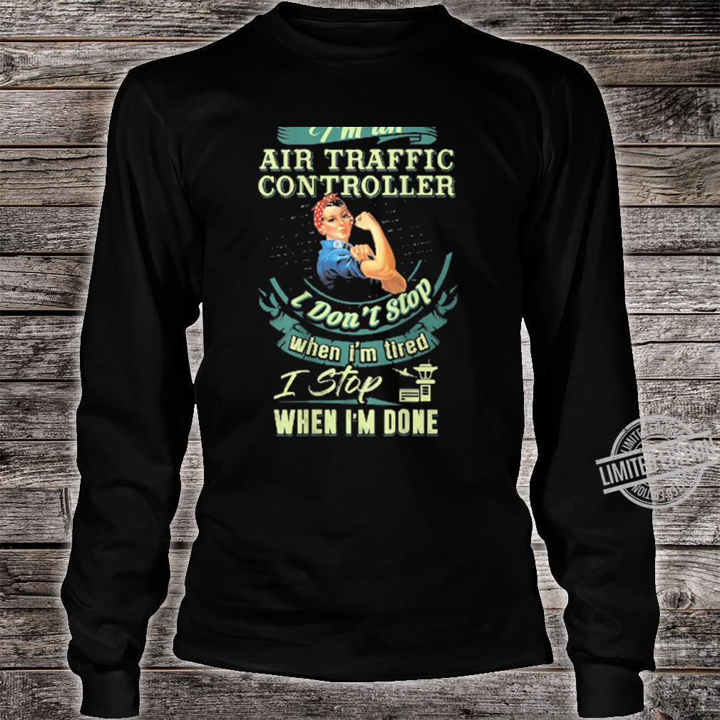 Best IRISH Air Traffic Controller ATC Flight Fun Shirt long sleeved