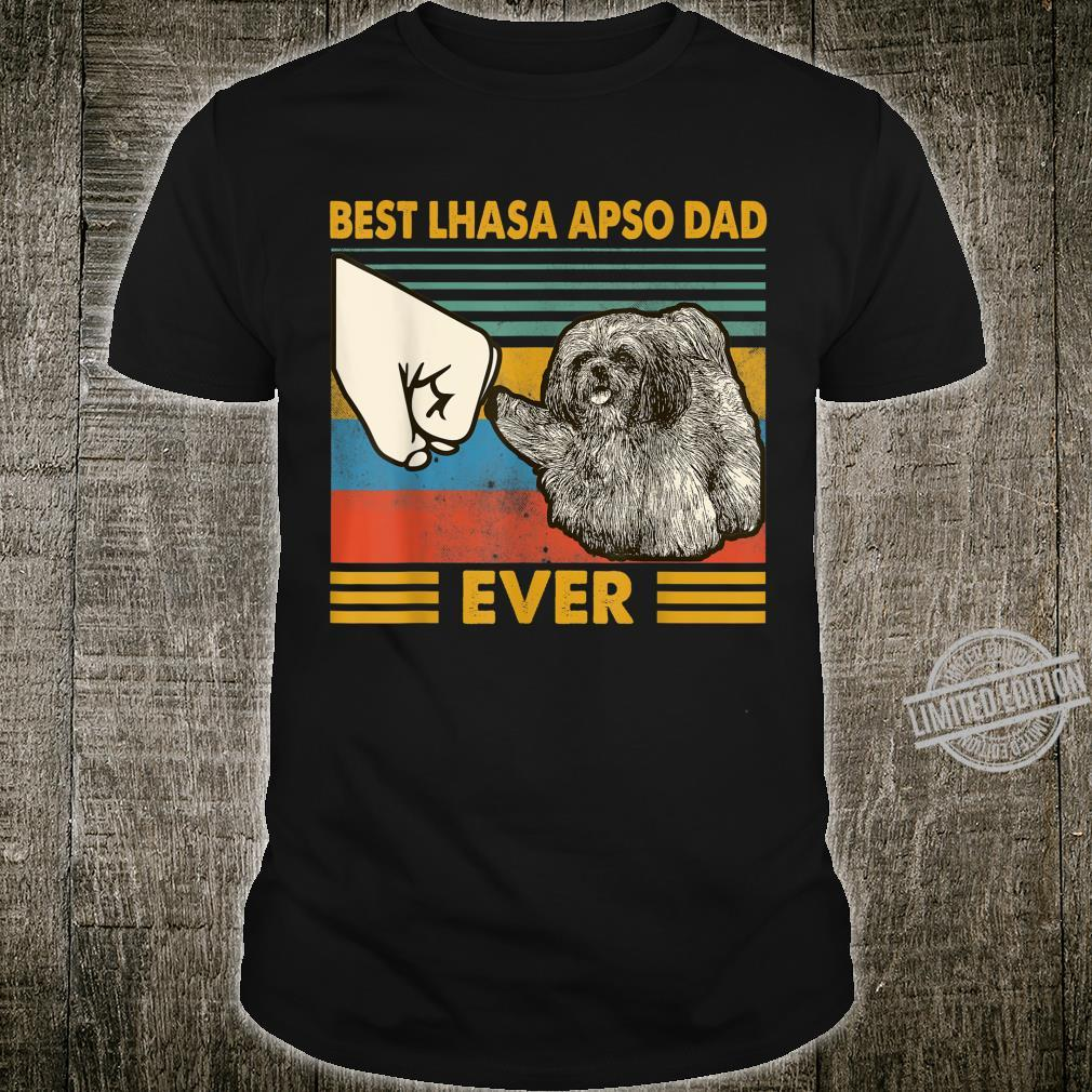 Best Lhasa Apso Dad Ever I Love My HLhasa Apso Shirt