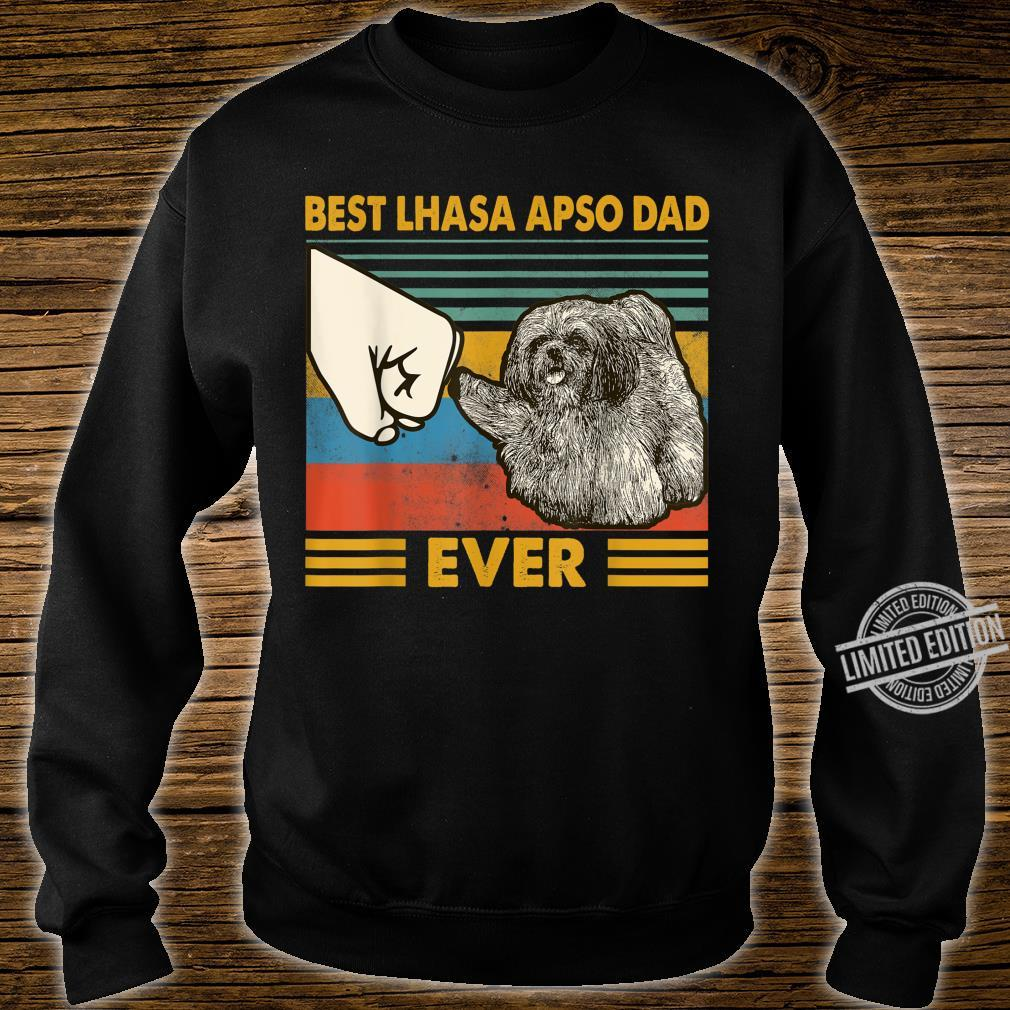 Best Lhasa Apso Dad Ever I Love My HLhasa Apso Shirt sweater