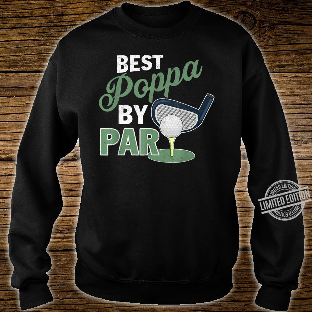 Best Poppa By Par Father's Day Golf Sports Shirt sweater
