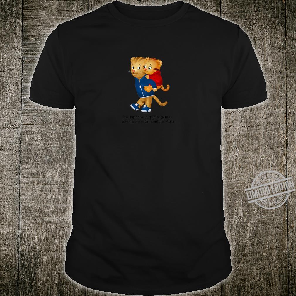 Kids Daniel Tigre Solo quiero estar contigo, Papá Claro Shirt