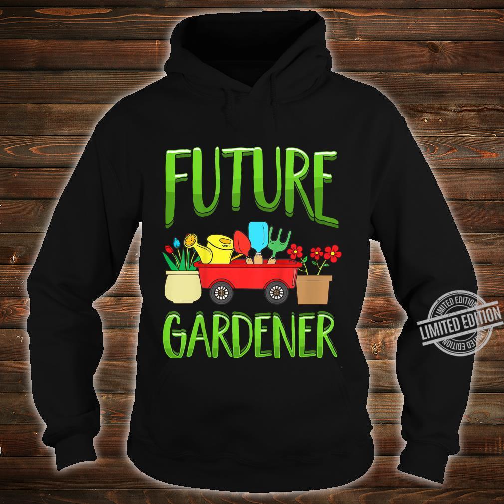 Kinder Future Gardener Garden Gardening Planting Boys Girls Shirt hoodie