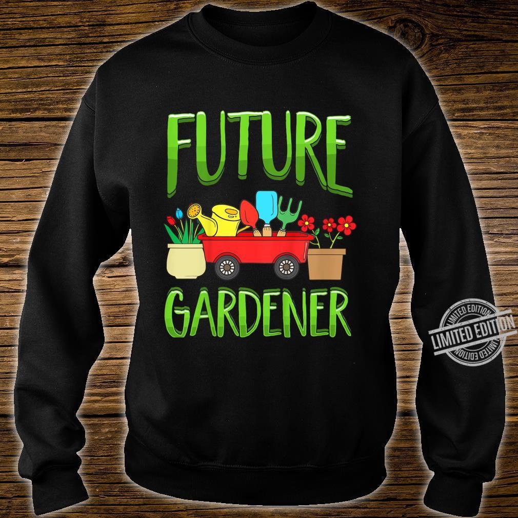 Kinder Future Gardener Garden Gardening Planting Boys Girls Shirt sweater