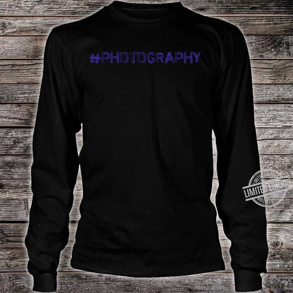 Photography Shirt long sleeved