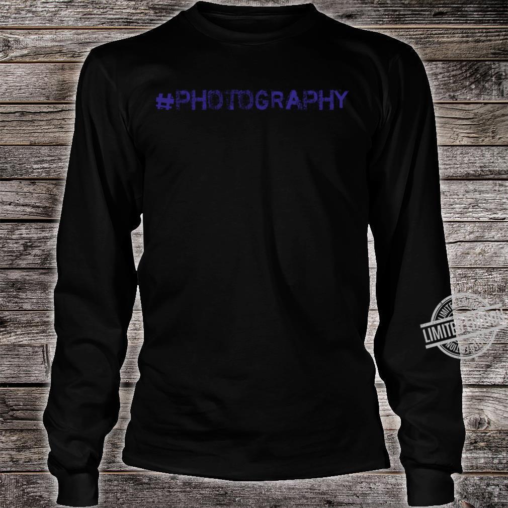 Photography Shirt long sleeved