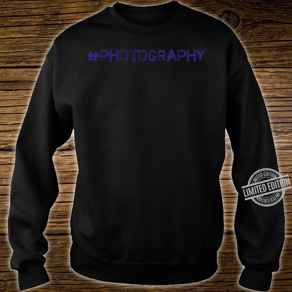 Photography Shirt sweater