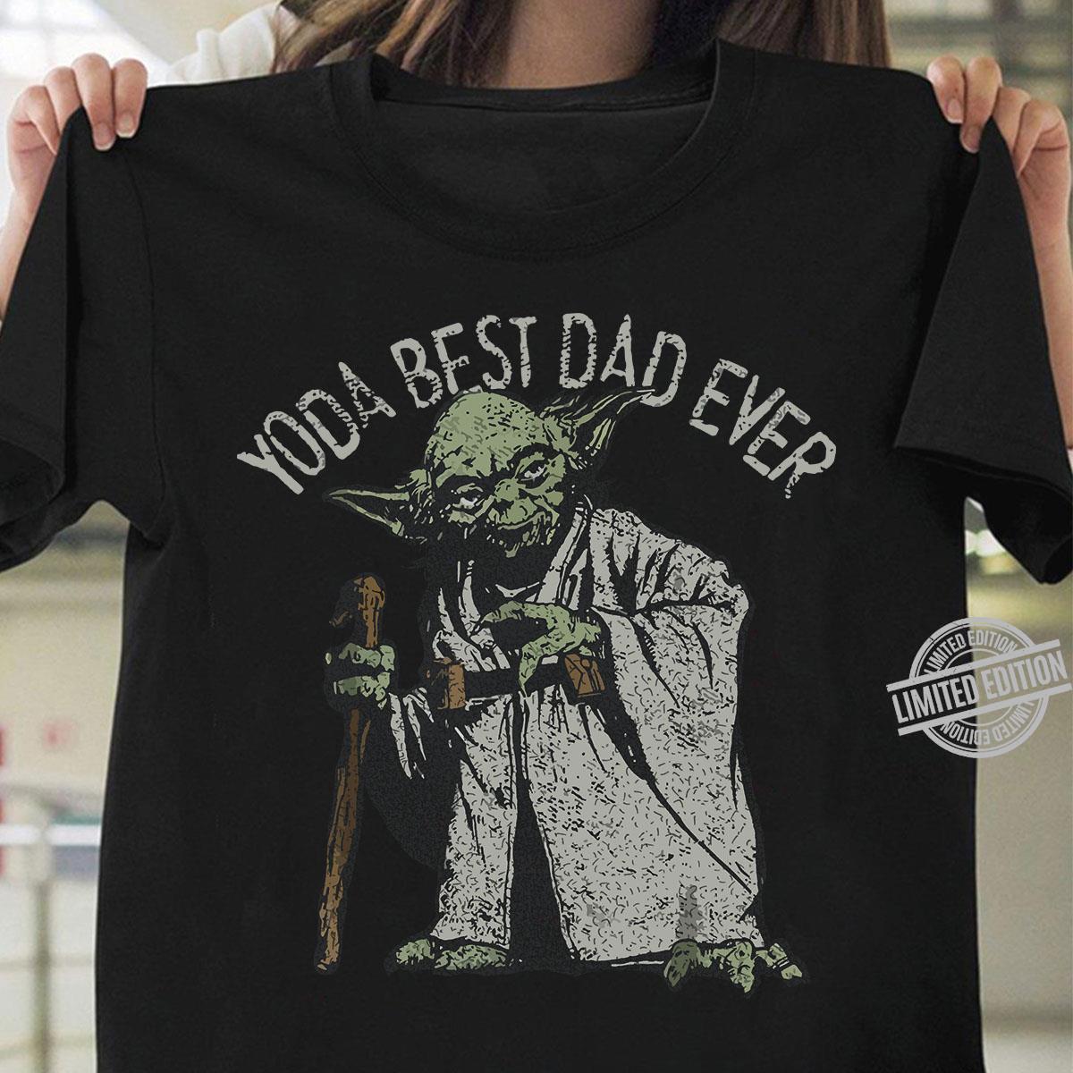 Yoda Best Dad Ever Shirt